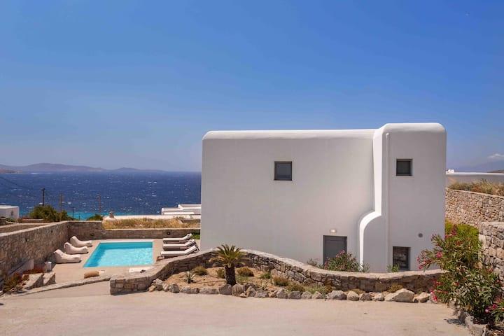 Mayz Villa with private pool, Aleomandra, Mykonos