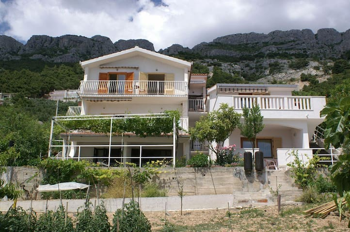 Studio flat with terrace and sea view Pisak, Omiš (AS-2750-c) - Pisak - Annat