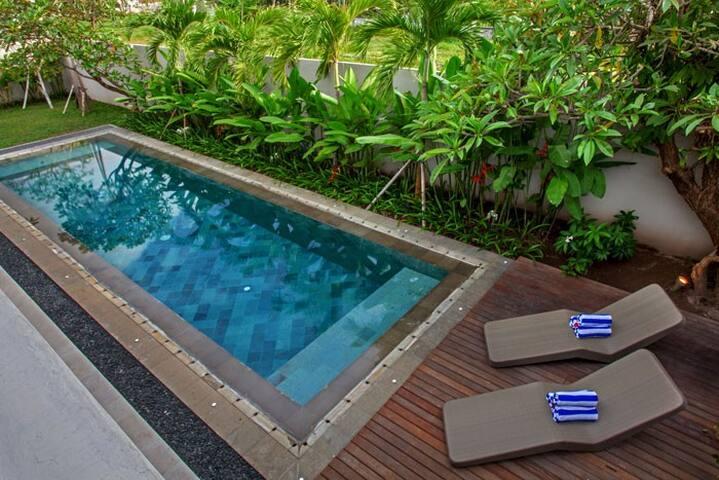 Book 2 BR Pool Villa near Canggu Club