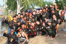 Sam Rit community boat team