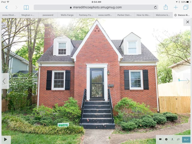 Cool brick home in a historic part of downtown