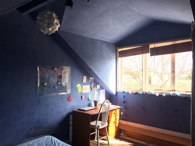 Cozy attic in a spacious townhouse Redfern station - レッドファーン - 一軒家