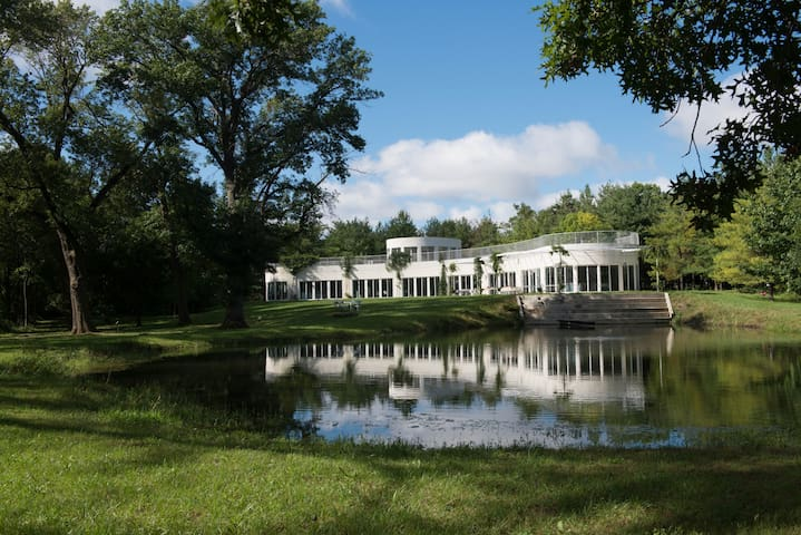 The Prairie Glass House