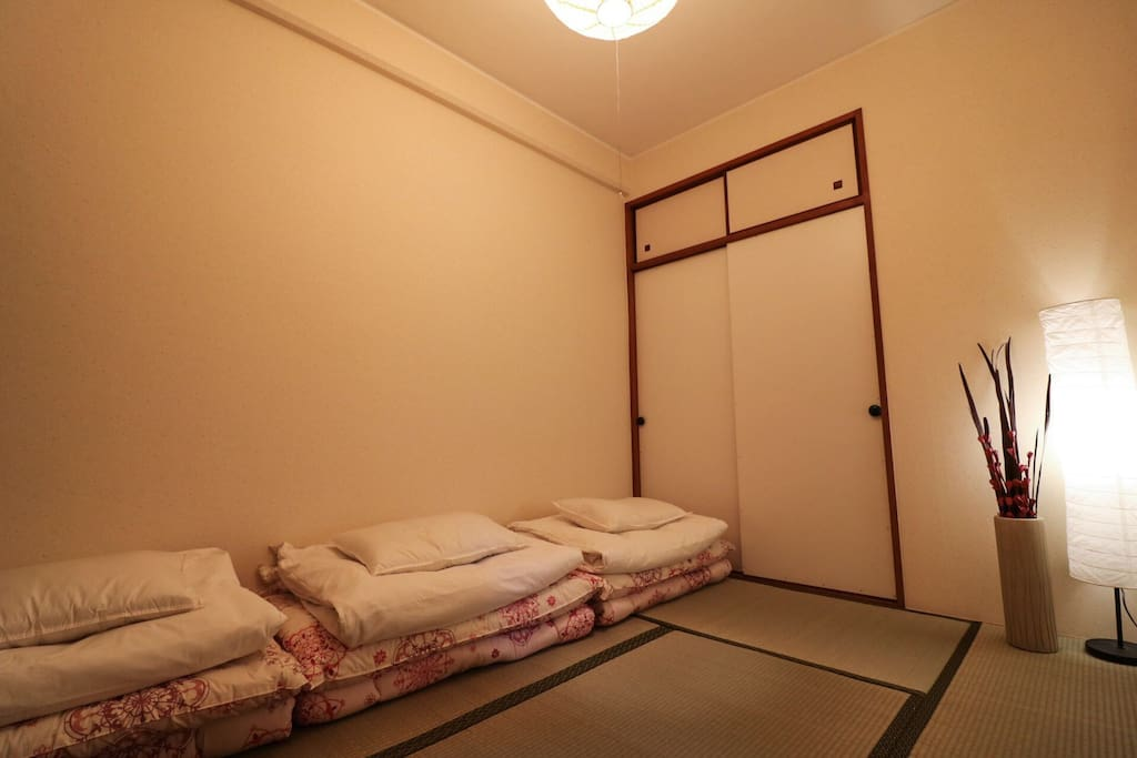 futon room   This room for three people
