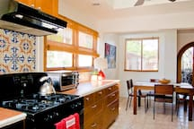 Kitchen w/dishwasher, blender, coffee maker, toaster oven and more...