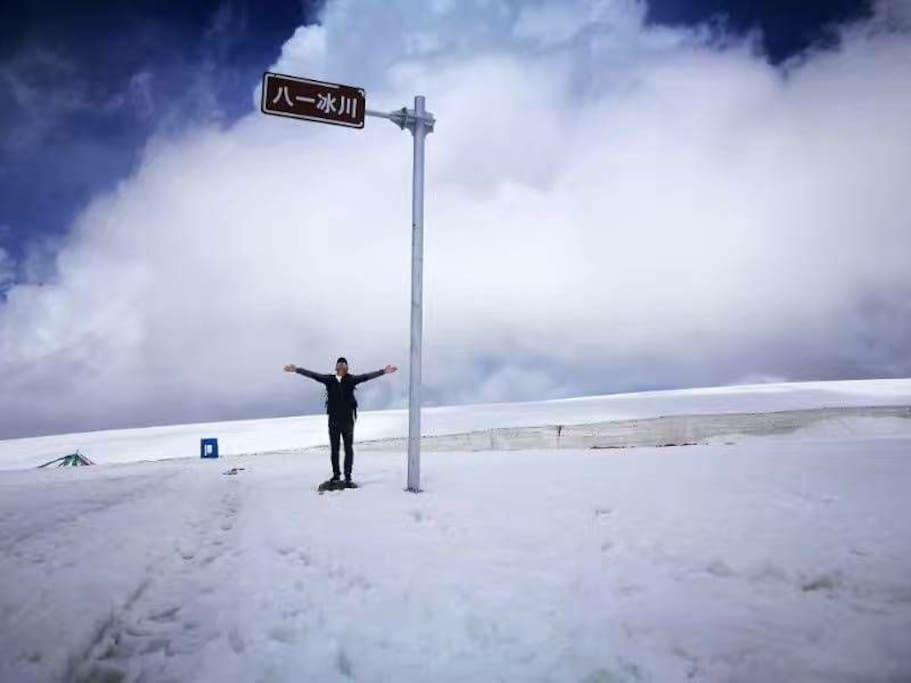 祁连八一冰川美景
