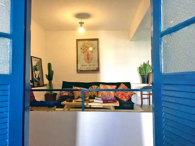 Apartamento Aconchegante em Laranjeiras - Rio de Janeiro - Huoneisto