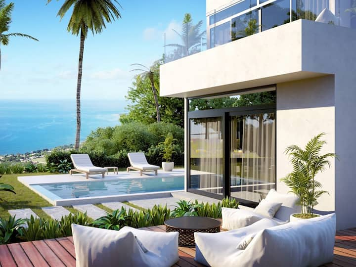 Private 360 Degree Sea View Luxury Villa