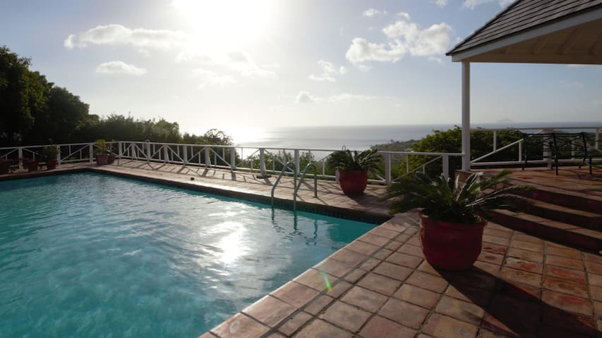 Ocean view from anywhere in the villa