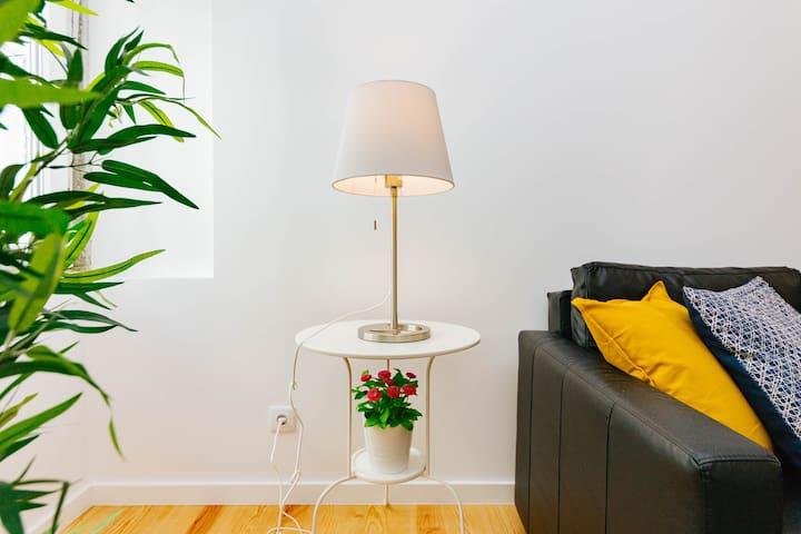 detail in living room