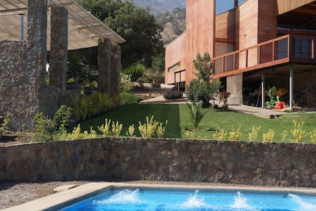 Beutiful Stone house with views - Curacaví - Pousada