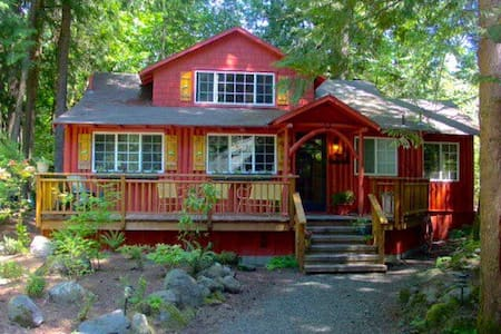 Kathy's Kabin, w/Hot Tub, for 12 - Rhododendron
