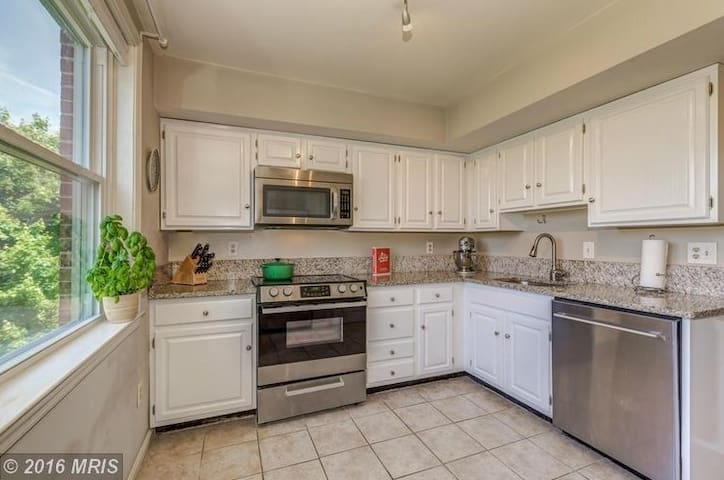 Sunny 2 bedroom steps to Old Town metros!