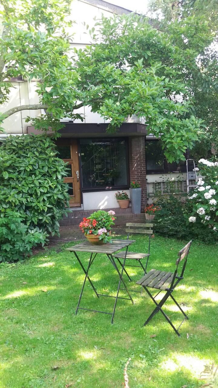 Comfortabele accommodatie midden in de Randstad