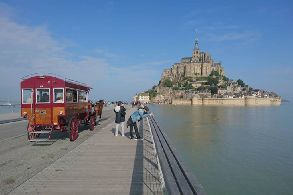 Nous sommes à 20 minutes du Mont-Saint-Michel