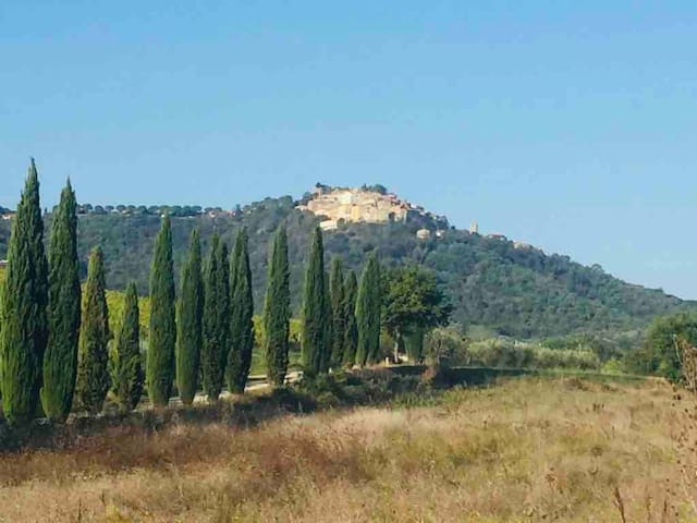 THE HOUSE OF ALBA in the hills with sea view