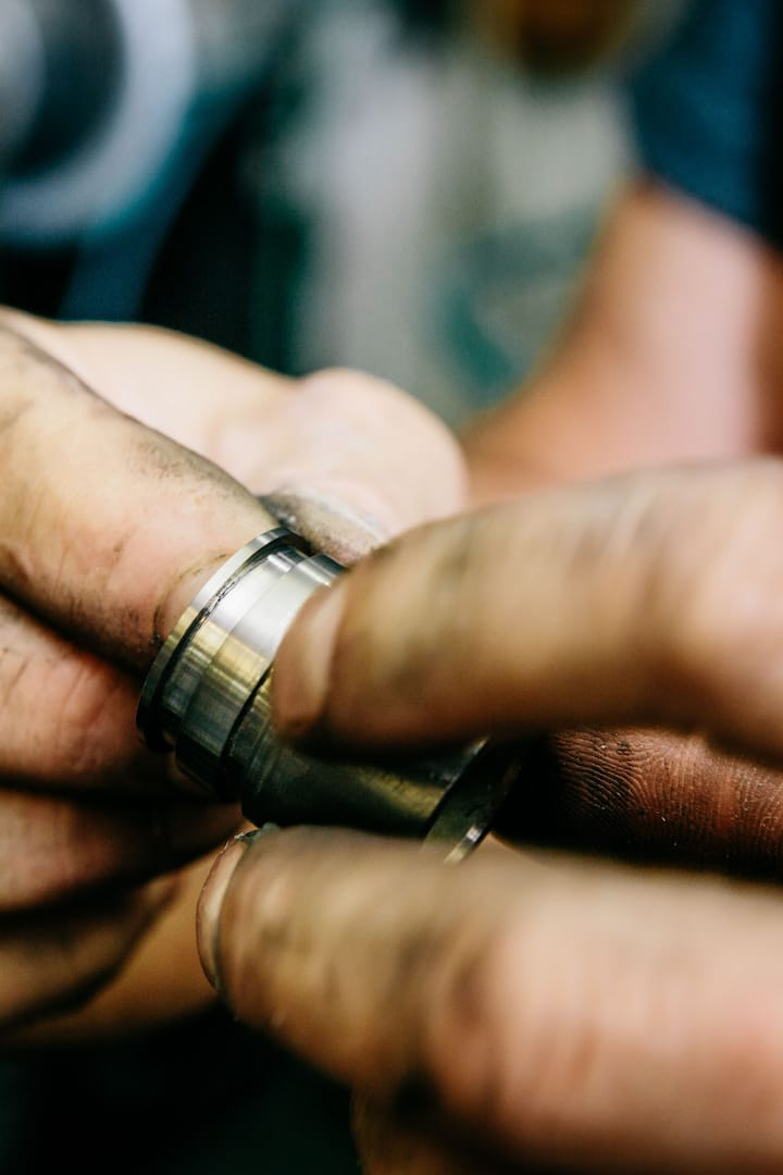 See how the rings are made.