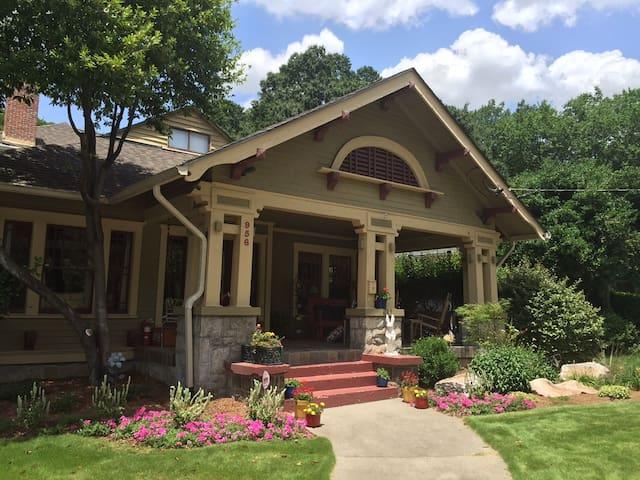 Beautiful Historic Home Near Mdtwn, Dwtwn, Decatur