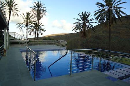 Holidays Flat Finca Oasis - apart n -4 - Balcon de Telde