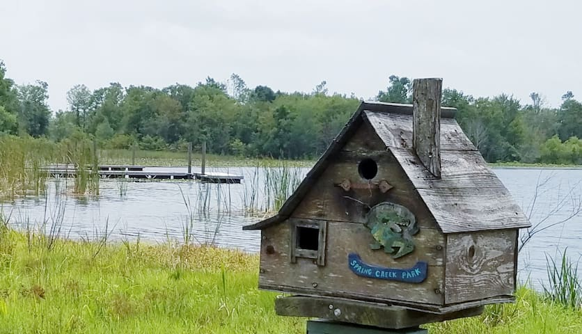 Free WIFI-Lake Cottage-1 mile to Boat Ramps