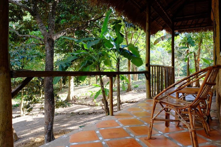 Private Twin Bungalow at Kep Mountain Lodge