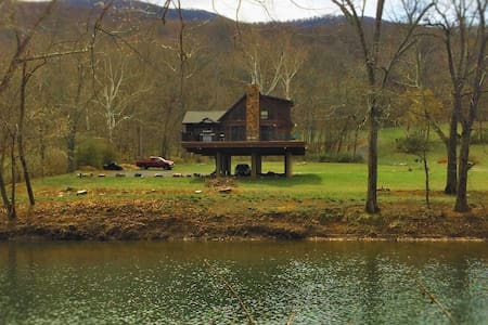 Chalet in West Virginia on the Cacapon River - Great Cacapon