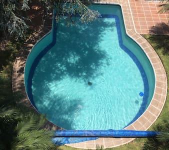 Nice and calm. Private pool & garden. Charming. - Cuernavaca - Apartemen