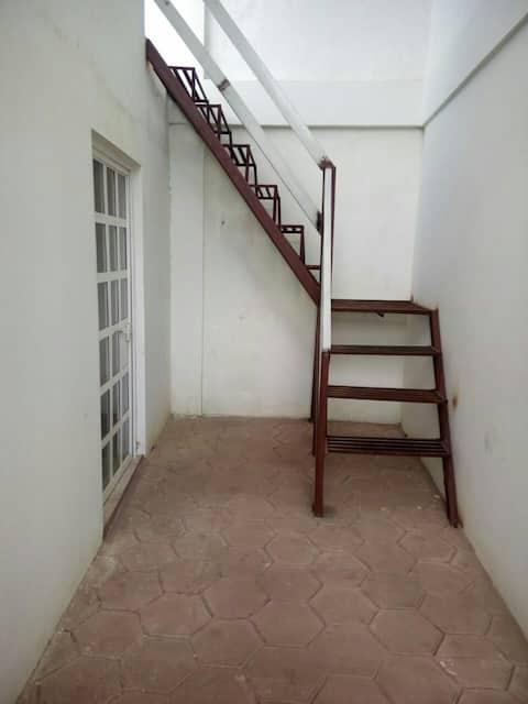 Departamento con dos habitaciones y cocina