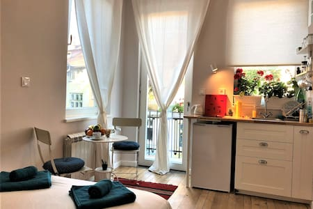 New! Superb quiet studio - the very heart of Sofia