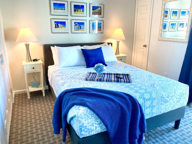 Mom and dad will enjoy plenty of quality alone time in our spacious third-floor master suite.