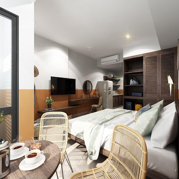 Luxury studio near Bui Vien st. - Ben Thanh market