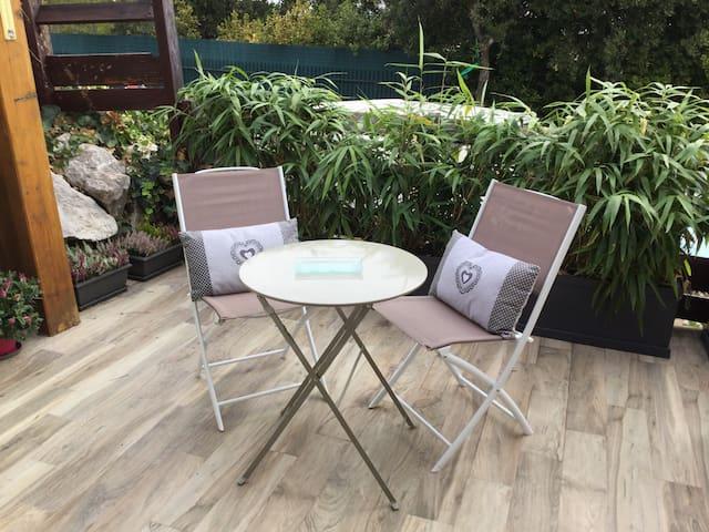 Appartement villa ,confort calme - Vallauris - Hus