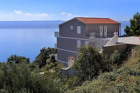 One bedroom apartment with terrace and sea view Marušići, Omiš (A-10331-b) - Marušići - Huoneisto