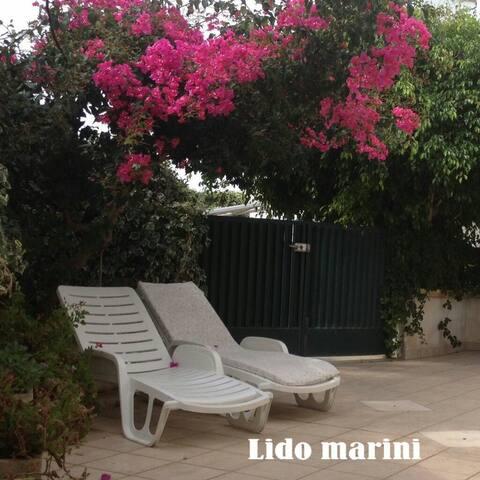 Confortevole trilocale Lido Marini - Lido Marini - Apartemen