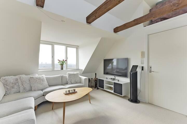 Top view apartment of Aarhus C with 2 bedrooms