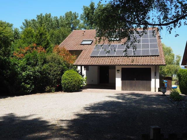 Haus HöriNest DIREKT AM SEE - Gaienhofen - Talo