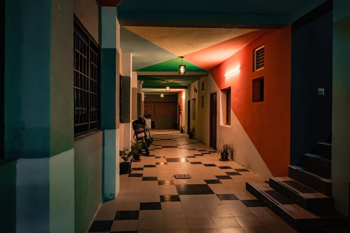 Helloworld Kovai | Private room in 2BHK - 02