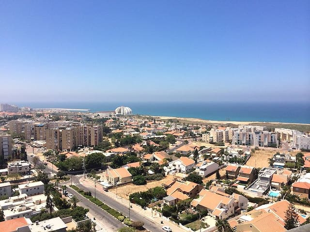 The Best Sea View Penthouse for the Best Travelers - Ashkelon - Osakehuoneisto