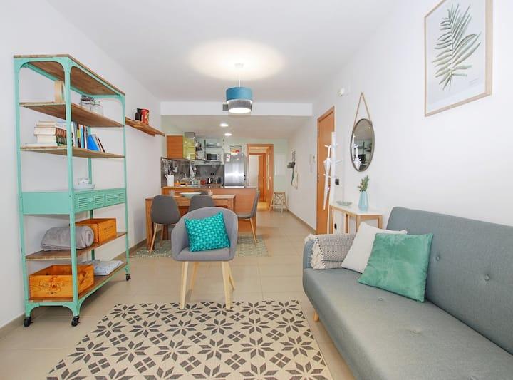 Petit niu · Apartamento AC - 3 min de la playa
