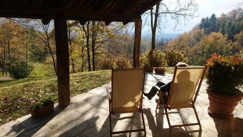 Casa di campagna a Bioglio con vista unica!