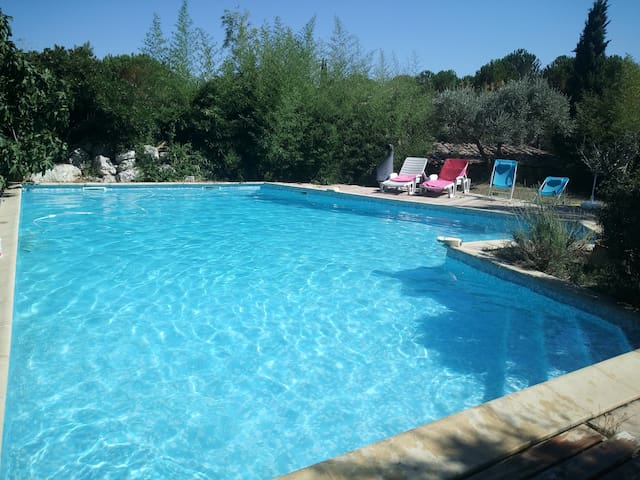 Logement avec piscine en Provence