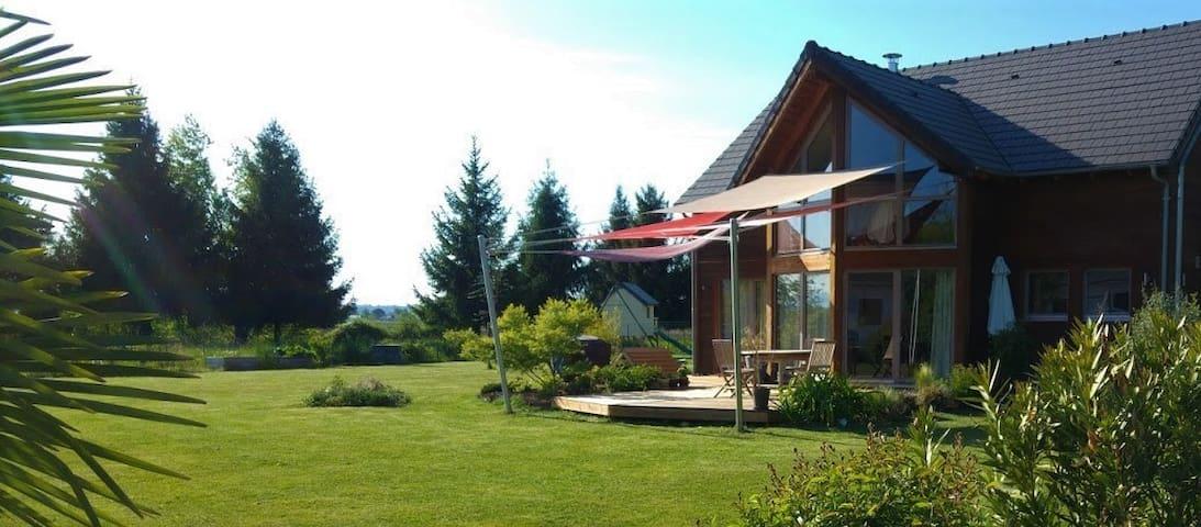Maison bois 3 chb , simple et bien sympathique