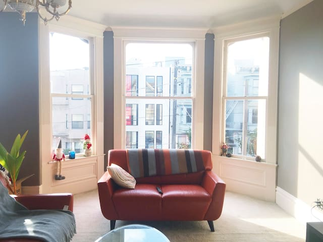 Beautiful 2 Bedrooms in a Victorian house - San Francisco - House