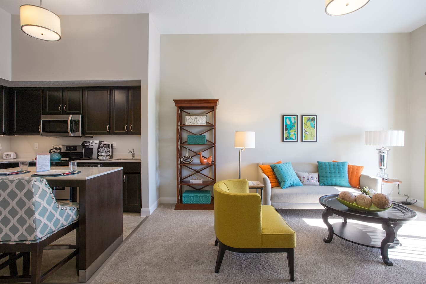 Example Apartment Living Room