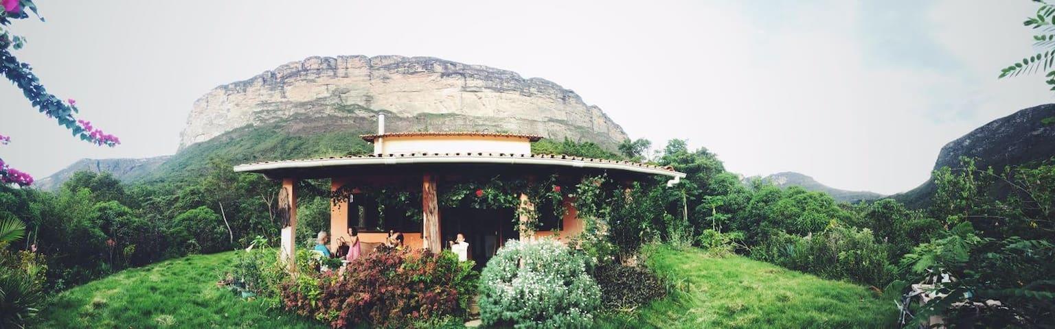 Refúgio sagrado na montanha - Lençóis - Haus