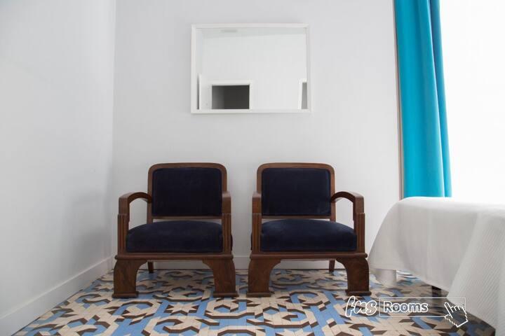 L´Esplai Valencia Bed and Breakfast - Habitación Malva - Rosa - Oferta 45% Descuento