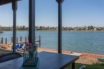 Lake Front Apartment