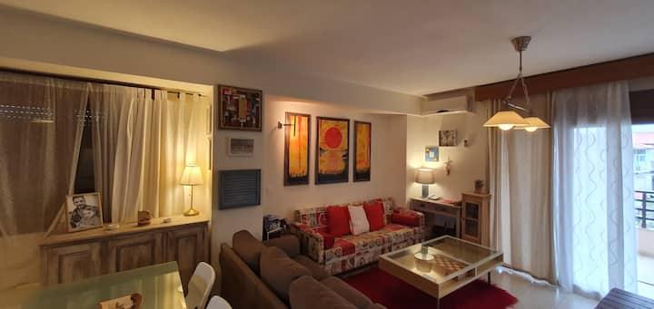 Spacious  apartment near the beach 6119