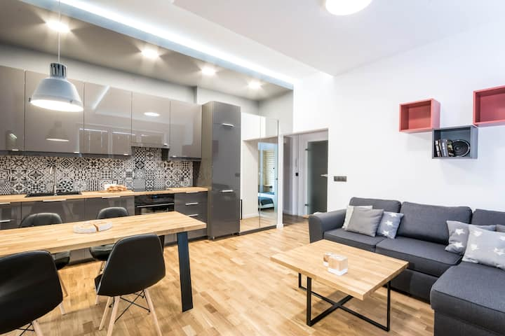 Atelier Centrum - new and modern appartment