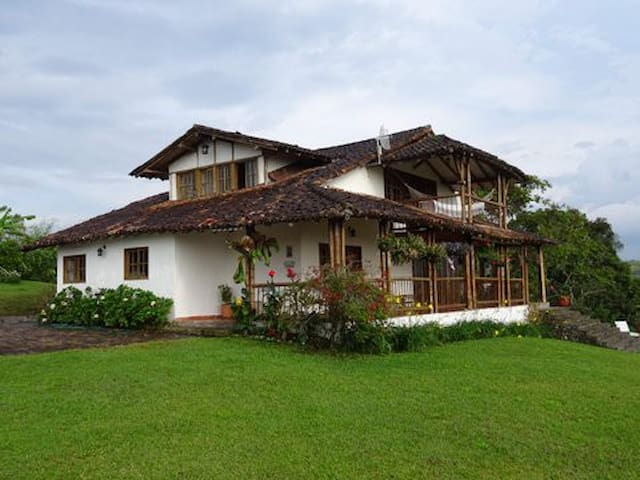 Country home in coffee region - Vereda YARUMAL - Шале